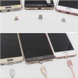 Großhandelsnylon umsponnenes magnetisches USB-aufladenkabel-Adapter-Aufladeeinheits-Kabel