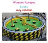 Spazzatrice gonfiabile di Wipeout di divertimento popolare per esterno