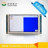 60 Pin 800*480ピクセル6.2インチスクリーンTFT LCDの表示