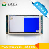 """60 Pixel 6.2 van de speld 800*480 de """" Vertoning van het Scherm TFT LCD"""