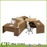 Mesa em forma de L por atacado da gerência do escritório da mobília de escritório