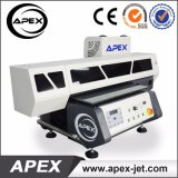 Più nuova stampante automatica da tavolino a base piatta UV di registrazione di altezza della stampante UV4060, stampa sugli autoadesivi dell'automobile