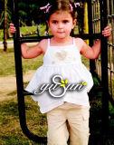 Children'garment/vestiti dei bambini/maglia Gallus della ragazza
