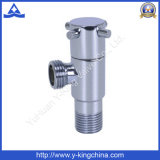 Faucet Shut off Brass Angle Valve Compression Fitting (YD-5032)