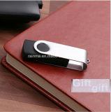 볼펜과 USB로 놓이는 호화스러운 주문 로고 승진 선물
