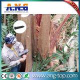 A cor branca da unha UHF RFID Tag para gerenciamento de madeira