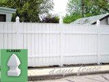 Plastique Vinyle palissade de jardin (DY103)