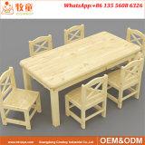 취학 전 교실 가구 아이들 판매를 위한 나무로 되는 둥근 교실 테이블
