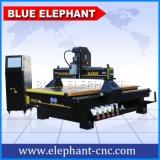 Máquina 1325, maquinaria de trabajo del ranurador del CNC de la fuente de la fábrica de madera para la puerta de madera