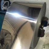 Bobine enduite par PVC d'acier inoxydable de la pente 304 de poing de GV de miroir