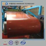 Bobine en acier enduite colorée faite en la Chine