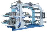 Machine d'impression flexographique quatre couleurs