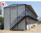 O edifício modular pré-fabricou