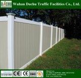 Magnifique et certifié clôture de PVC en PVC