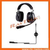 Ran-3000CF 4ptt удваивают шум волокна углерода Earmuff отменяя шлемофон