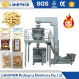Caixa de 1kg de batatas fritas pequenos grãos de arroz castanha de caju Bag Máquina de Embalagem embalagem de pesagem