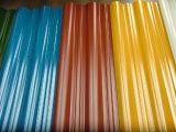 Las Hojas onduladas de PVC