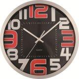 Reloj de pared de acrílico de la decoración del estilo de la correspondencia de mundo de la manera de la pared del metal del arte moderno del reloj