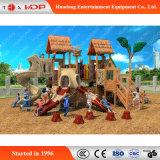Corrediça de madeira do parque de diversões popular do slider das crianças para a venda (HD-MZ025)