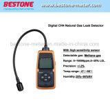 Detector de vazamento de gás metano DOCUP203 CH Digital4 Detector de Vazamento de Gás Natural com Sensor de alta sensibilidade DOCUP203
