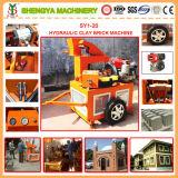 L'argile Usine de fabrication de la brique de verrouillage de la machinerie (SY1-20)