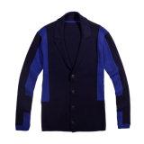 Camisola De Cardigan Masculino De Malha De Colar De Shawl Personalizada com Botão