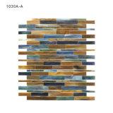 Mattonelle di mosaico di vetro di alta qualità su ordinazione della Cina