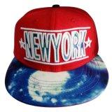Nueva gorra de béisbol de encargo del Snapback con Niza el bordado Gj1744