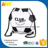 sacchetto di Drawstring a forma di di gioco del calcio di nylon del poliestere 210d
