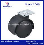 Rustikaler Möbel-Schwenker 1 Zoll-Rad-Fußrolle