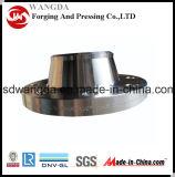 Flange forjada do aço de carbono A105 Wn RF