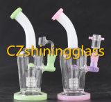 Riciclatore di fumo di vetro del tubo di acqua disegno a più strati di colore di più nuovo