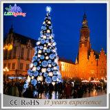 Albero di Natale gigante artificiale di natale dell'indicatore luminoso esterno LED della decorazione