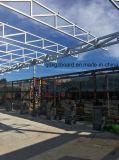 Almacén prefabricado desmontable ligero ensanchable de la estructura de acero