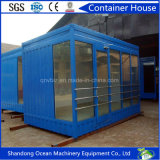 Edifício modular pré-fabricado Container House of Steel Structure Frame
