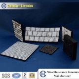 Резиновый вкладыш керамической плитки как износоустойчивые футеровки желоба
