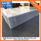 1-3mm épais feuille en plastique rigide clair PVC