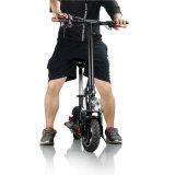 500W電気Foldable 2つの車輪の移動性のスロットのグリップ