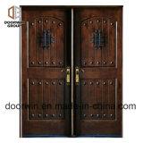 علبيّة حديد [كلفوس] تصميم أثر قديم يقوّى أبواب خشب [إإكستريور دوور] لأنّ منزل