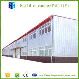 Estrutura de fabricação de aço pré-fabricados na fábrica de construção do layout de oficina