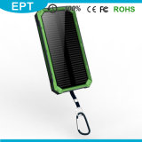 Wasserdichte Silicone Flashlight Solar 10000mAh Power Bank (NP-005)