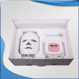 皮の若返りの美顔術はPDTマスクをつける
