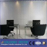 High-End DIY Embossed 3D MDF Decoration Wall Panel voor Hotel Lobby