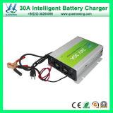 Portable 12V 30d'un chargeur de batterie plomb-acide (QW-B30A)