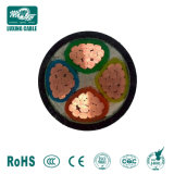 3+2 coeurs Câble d'alimentation en cuivre