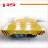 Carro de transferência de Ladel da eficiência elevada com o a pilhas nos trilhos