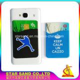 Promover la billetera móvil inteligente, de silicona celular titular de tarjeta de crédito