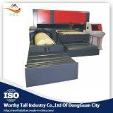 Televisão e madeira rotativo para máquina de moldes de laser de CO2 Die Board tornando