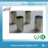 Магнит цилиндра NdFeB никеля N42 высокого качества постоянный