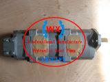 Echte dreifache KOMATSU-Zahnradpumpe! ! Hydraulische friedliche Zahnradpumpe des KOMATSU-Exkavator-PC60: 705-56-24080 Ersatzteile